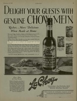 Delight Your Guests With Genuine Chow Mein
