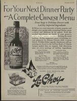 For Your Next Dinner Party- A Complete Chinese Menu